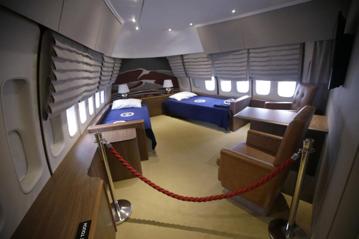 Air Force 1 Replica Takes Visitors Inside Presidential 747