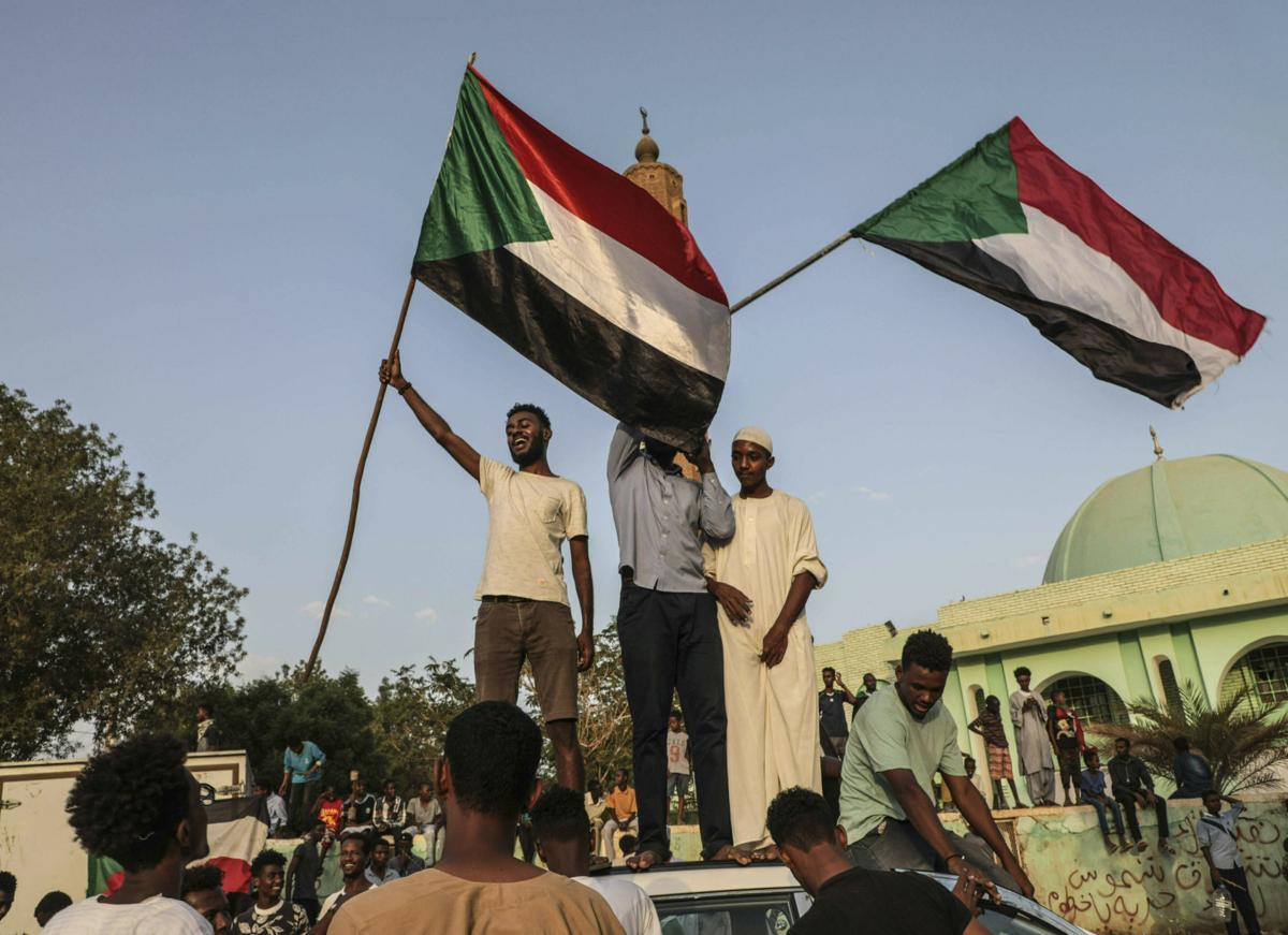 Sudanese celebration
