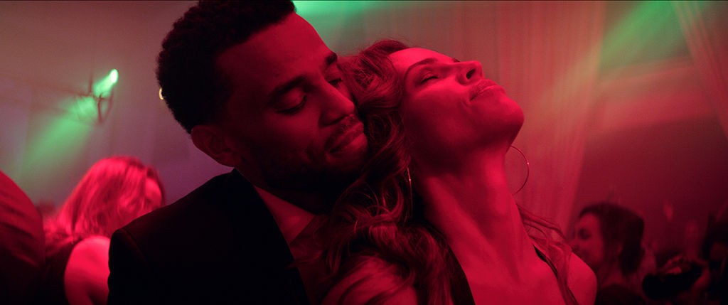 Fatale Movie B - Michael Ealy and Hilary Swank