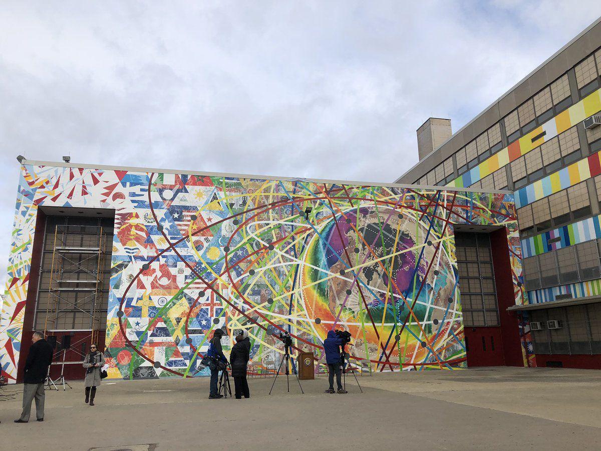 """Parts Per Million"" mural"