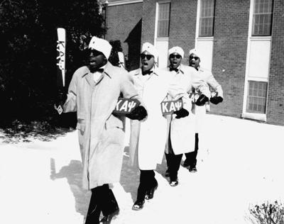 Kappa Alpha Psi, Beta Sigma Chapter pledge line of 1961