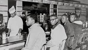 COURAGE AT THE GREENSBORO LUNCH COUNTER.jpg