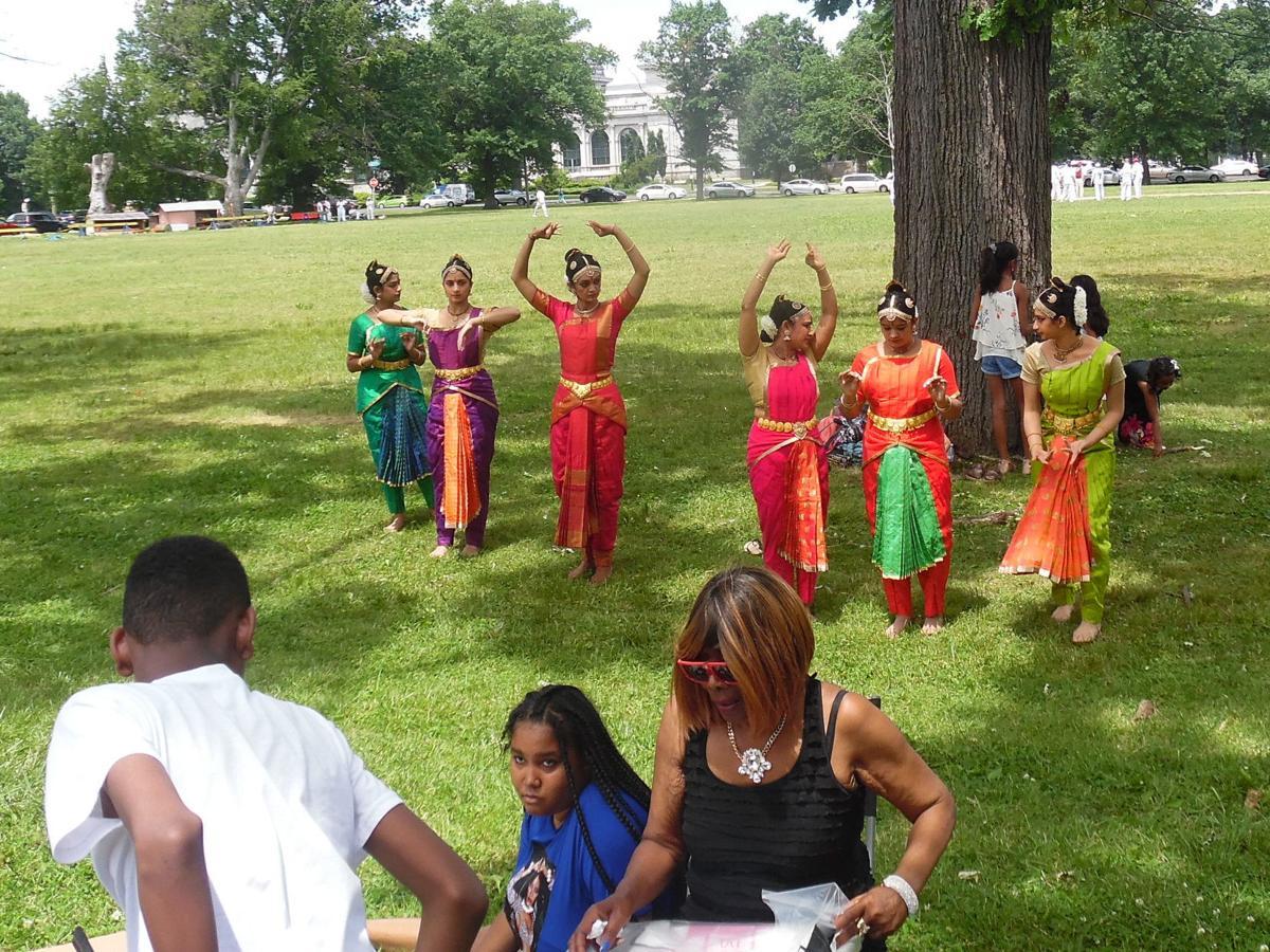 Dancing at West Park Arts Festival