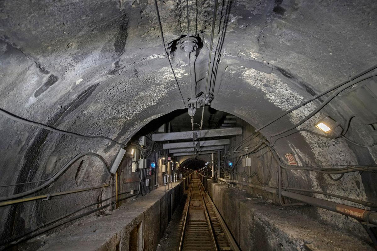 Decaying Rail Tunnels