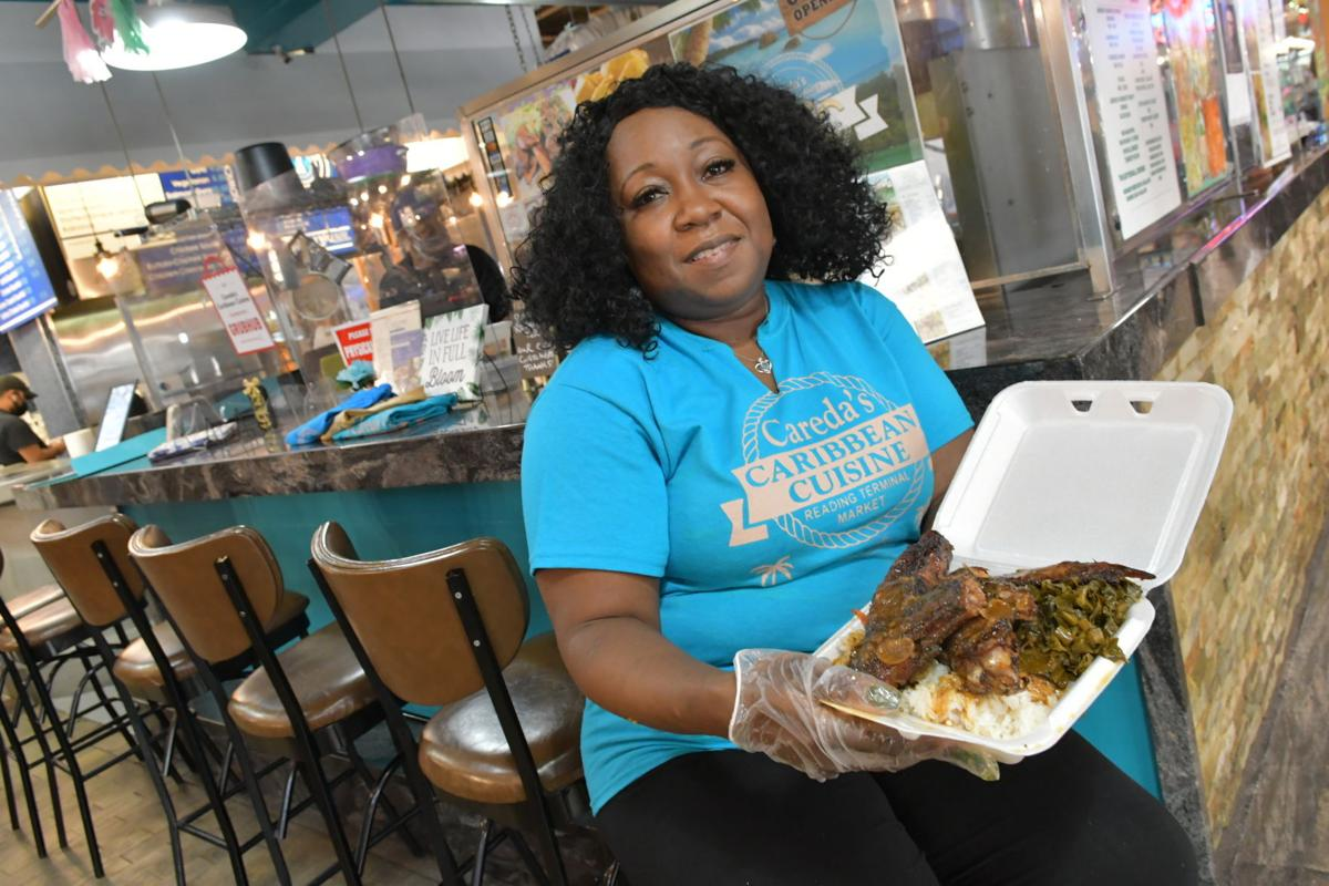 Careda Matthews, owner of Careda's Caribbean Cuisine