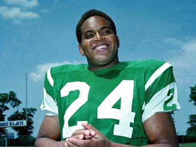 The late Johnny Sample is the only professional football player with an NFL, AFL and Super Bowl championship ring. — AP PHOTO FILE
