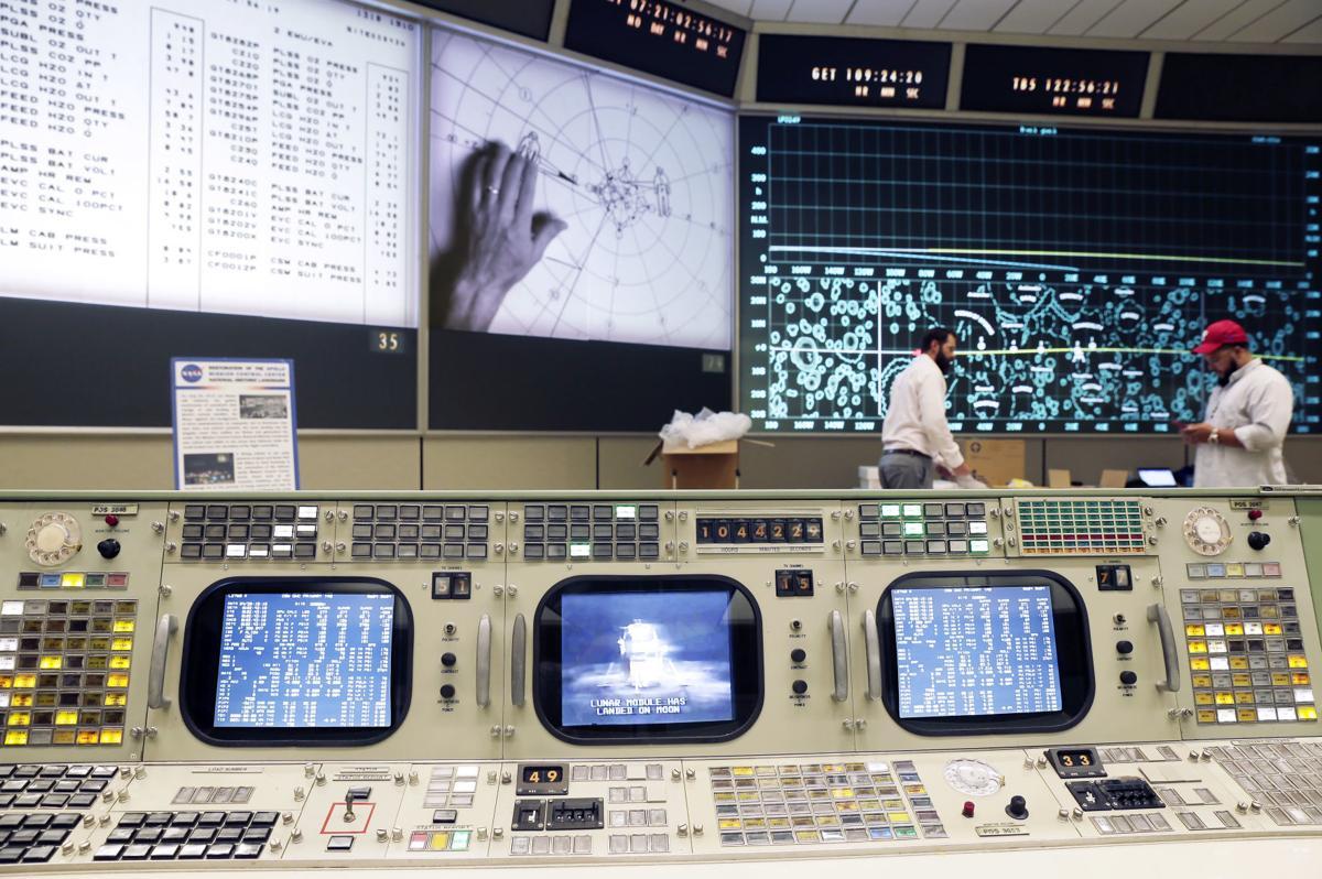 Moon Landing Mission Control