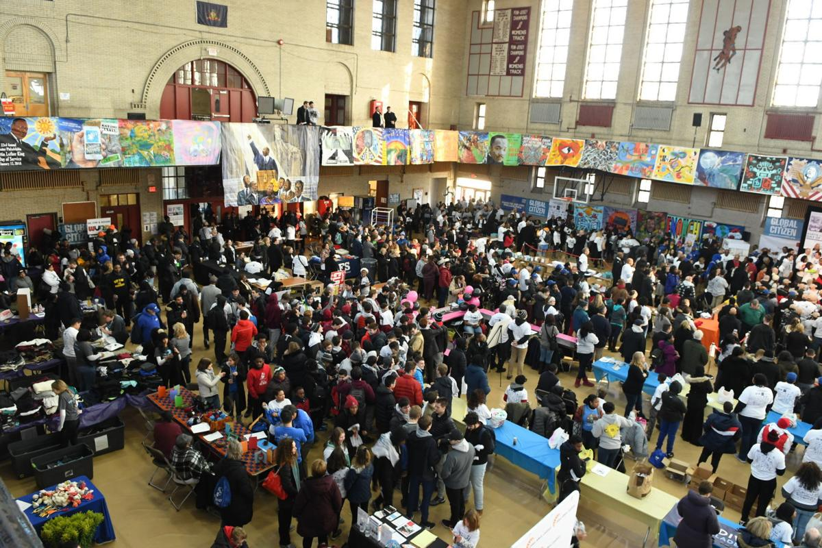 Volunteers working at Greater Philadelphia Martin Luther King Jr. Day of Service