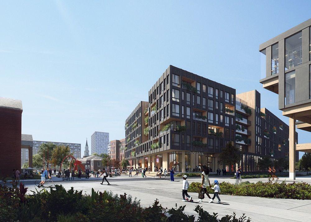 Navy Yard project rendering