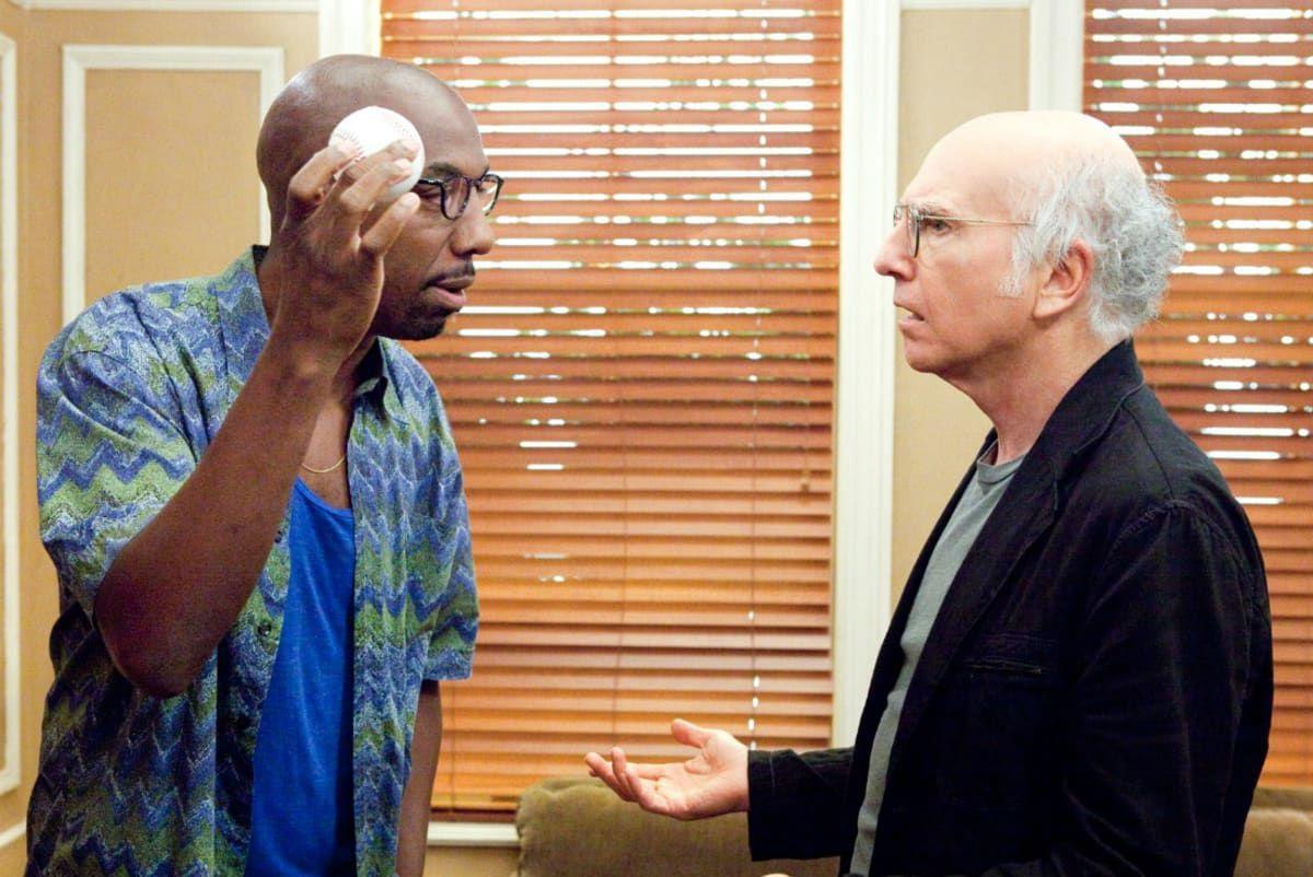 J.B. Smoove and Larry David