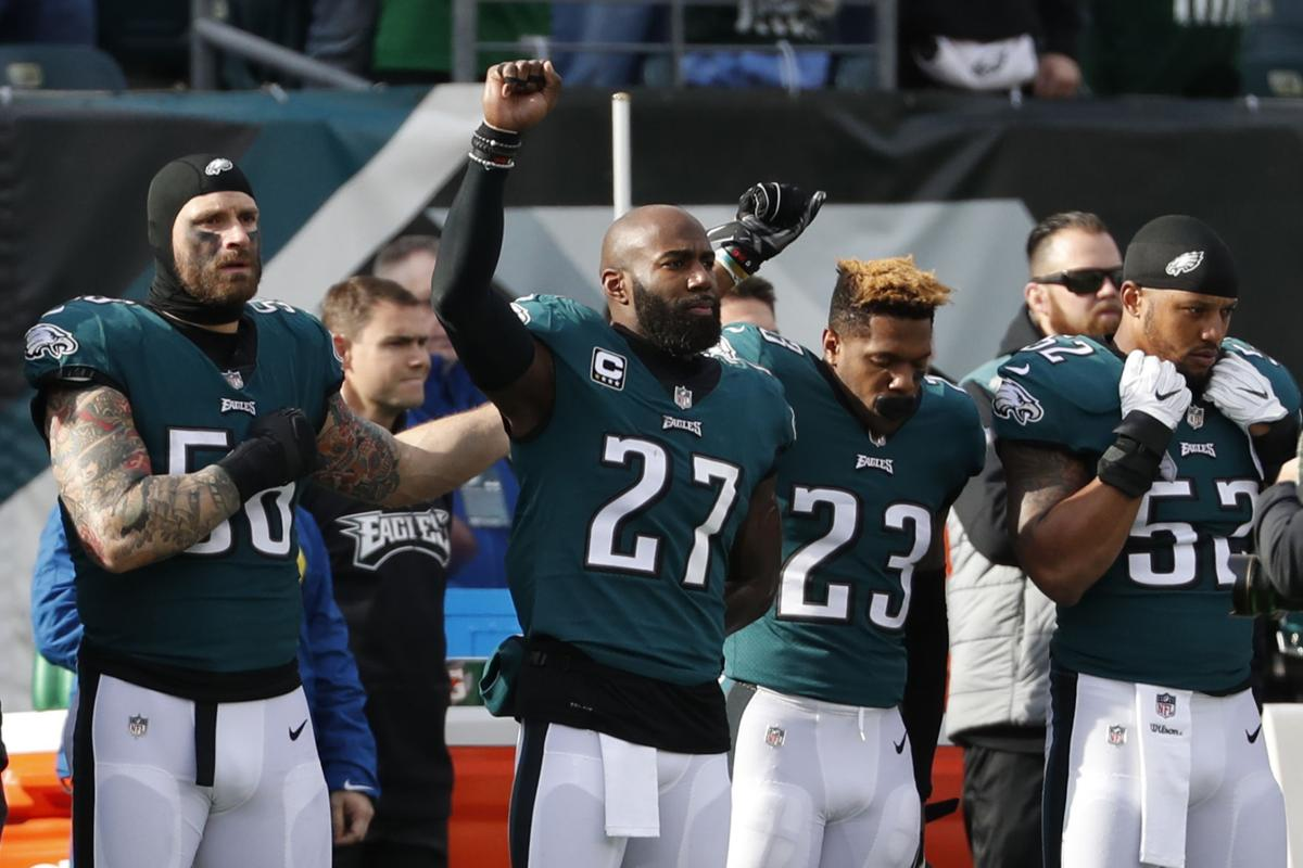 Eagles Malcolm Jenkins to end national anthem protest