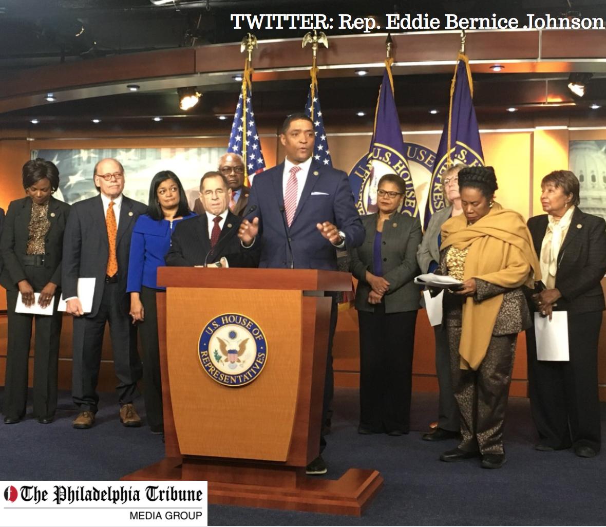 Congressional Black Caucus backs effort to censure Trump