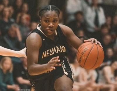 Neumann-Goretti senior guard Diamond Johnson was mysteriously omitted from the 2020 McDonald's All-American girls basketball team. — SUBMITTED PHOTO