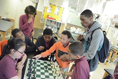 Chess, a big deal at Bregy, teaches life skills