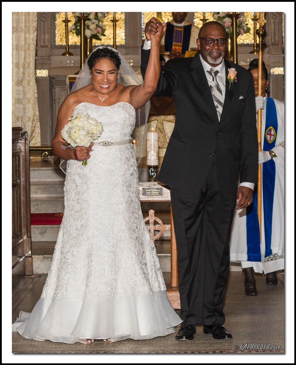 The Wedding Story: Yvonne Caldwell and Henri White