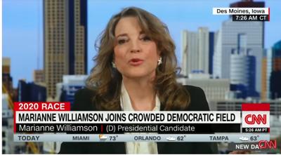Oprah's spiritual adviser Marianne Williamson wants U S  to