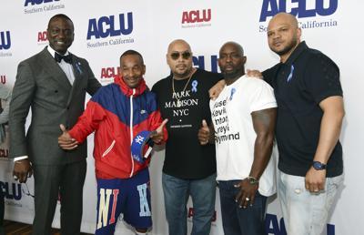 Central Park 5 - Yusef Salaam, Korey Wise, Raymond Santana, Antron McCray and Kevin Richardson