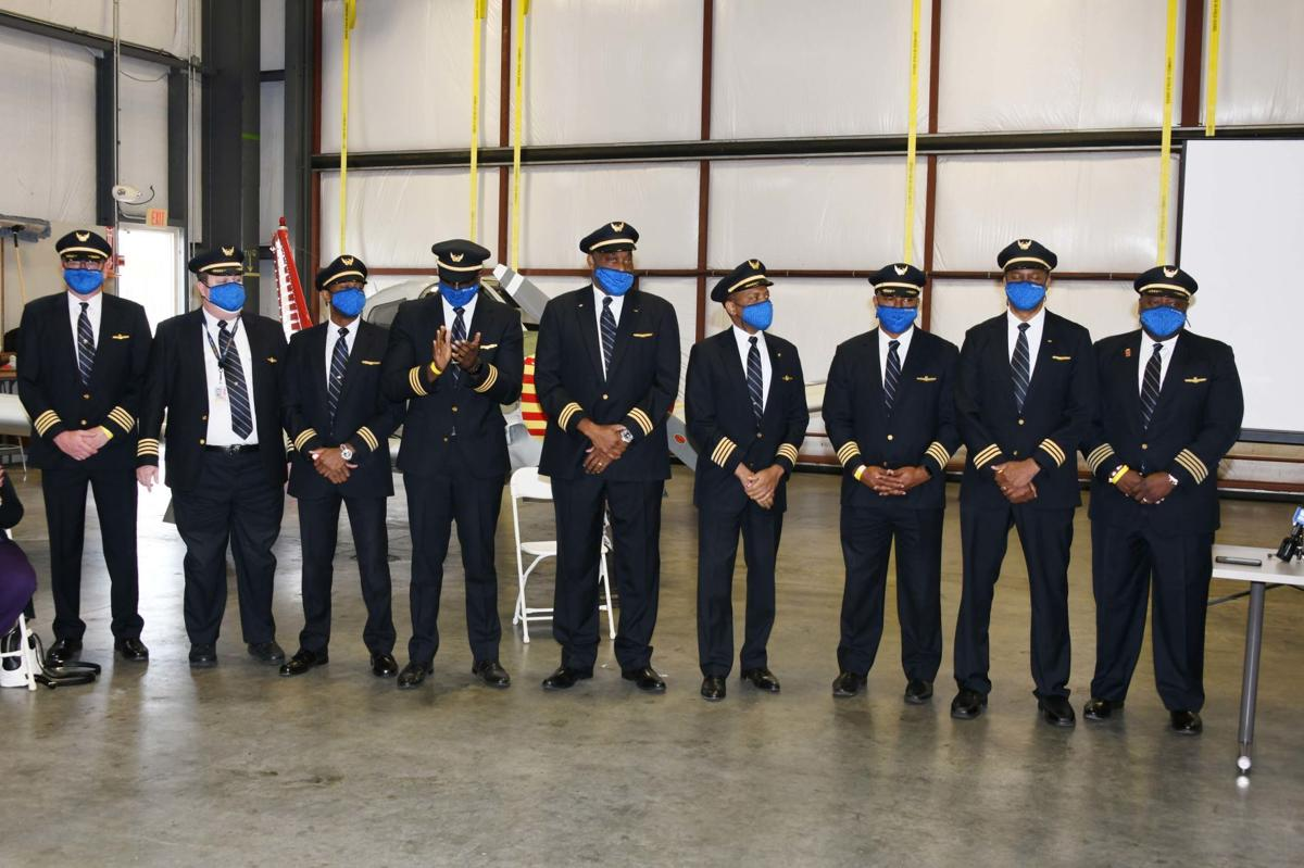 United Airlines pilots from Delaware State University