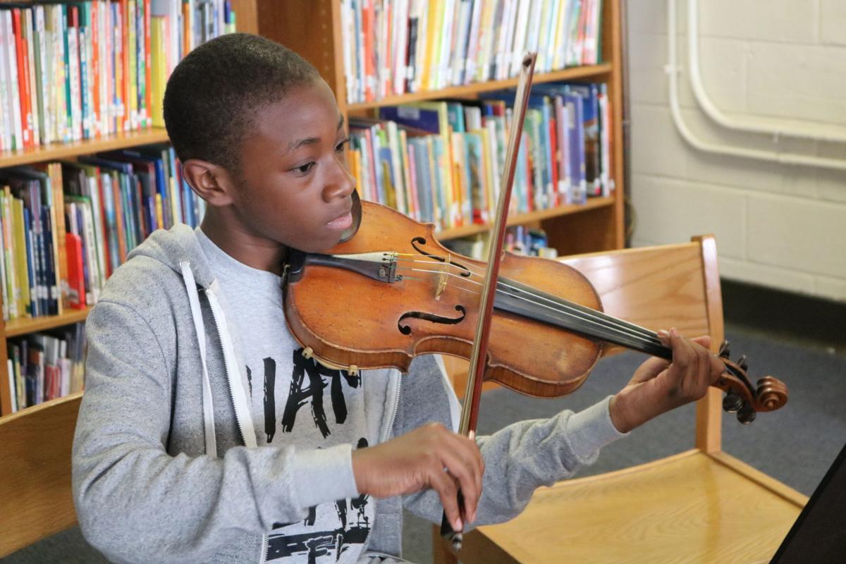 Musicopia student