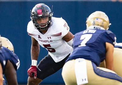 Temple University linebacker Shaun Bradley is gaining national attention with his play. — PHOTO COURTESY OF TEMPLE UNIVERSITY
