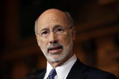 Wolf tells group he'll fight for cash assistance program