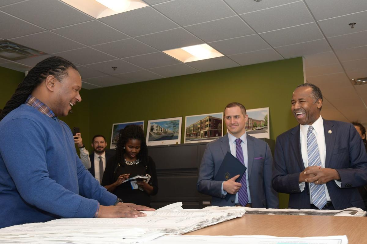Ben Carson touts public housing funding in Philly visit