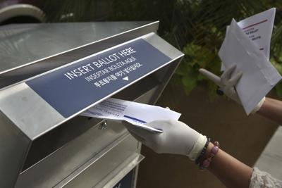 Election 2020 Voting Drop Boxes