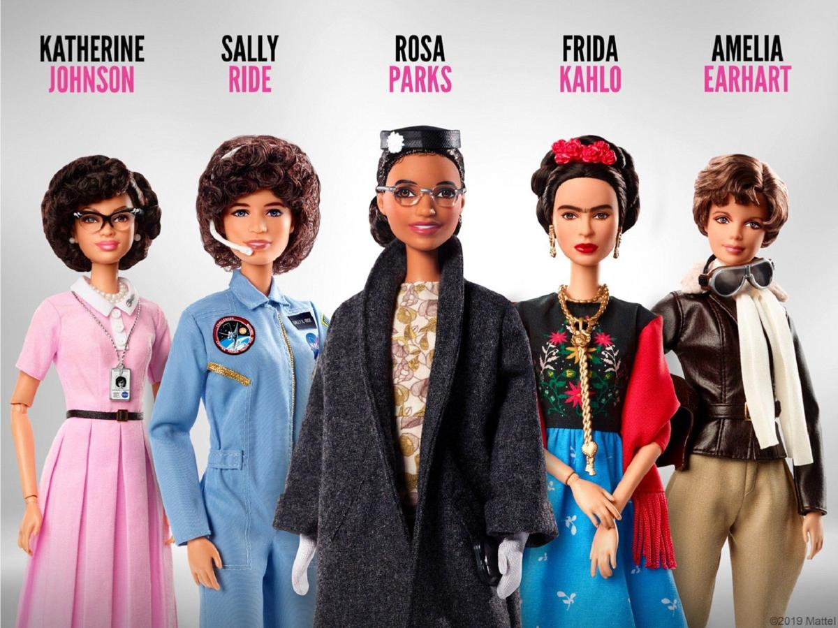 Women Hero Barbies - Women's Equality Day