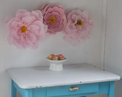 Giant Paper Flowers Make A Mother S Day Statement Lifestyle