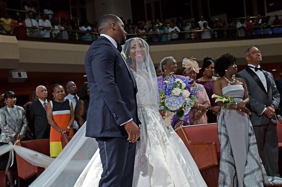 Our Wedding Story Elynn Morgan Waller And Pastor Corey Maurice
