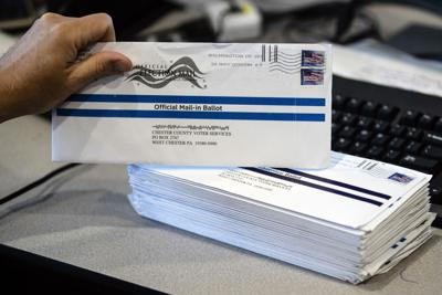 Mail-in primary election ballots