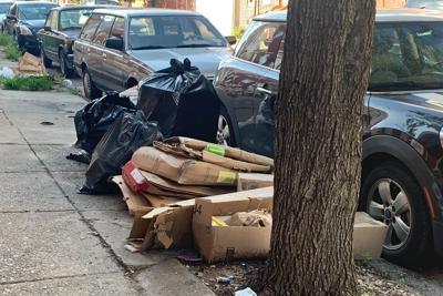 Trash In Philadelphia