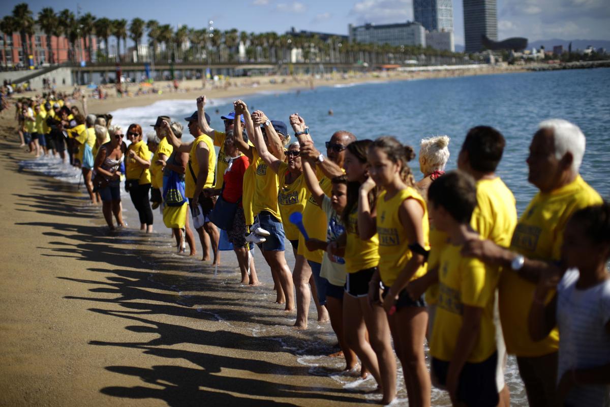Protest against tourism