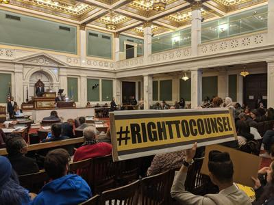 Right to Counsel legislation in Philadelphia City Council