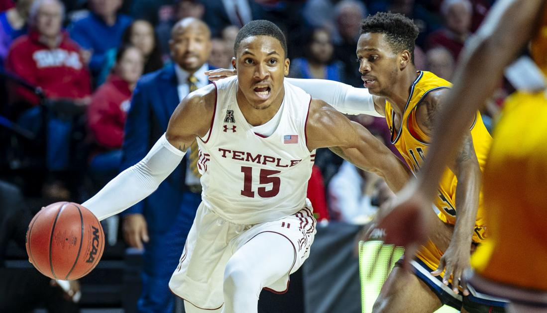 Temple's Nate Pierre-Louis chosen AAC and Big 5 Player of the Week