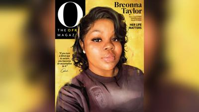 Breonna Taylor Oprah Magazine cover