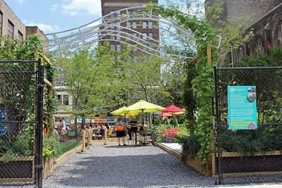 Pa. Horticultural Society's Pop Up Garden opens