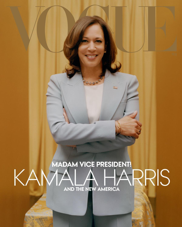 Vice President-elect Kamala Harris on Vogue digital cover
