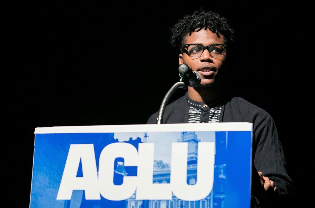 Jamal Parker, poetry champion and published author at 22