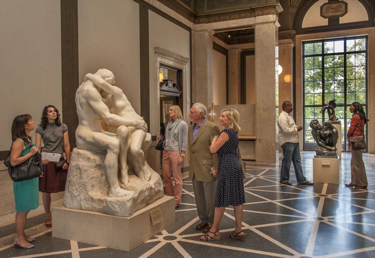The Work Of Auguste Rodin Is On Display Lifestyle Phillytrib Com