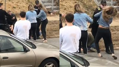 Video of Officer Punching Woman During Arrest in Chester Sparks Investigation