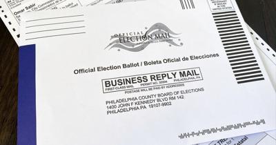 2020 Philadelphia ballot envelope