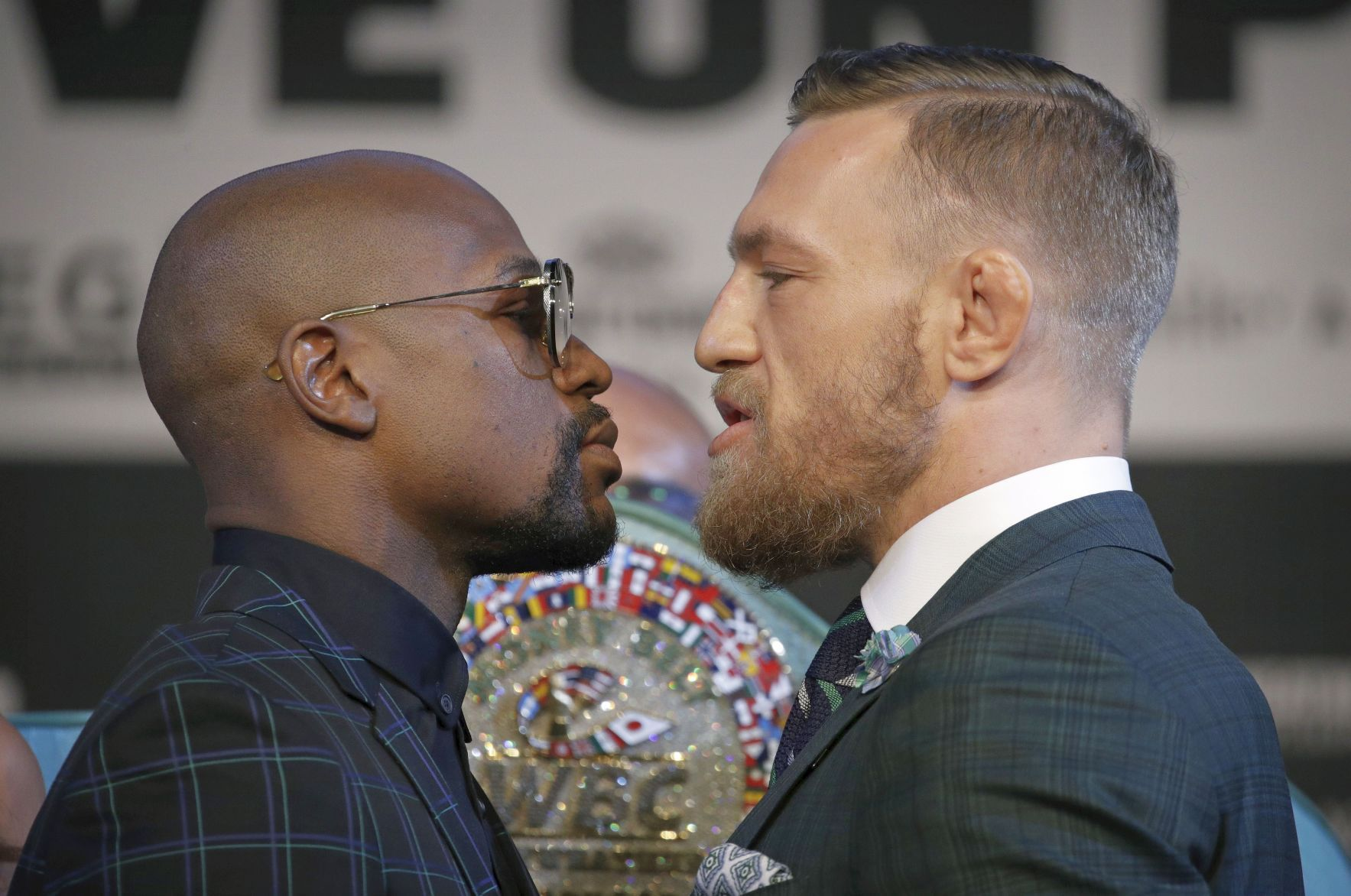 Mayweather, McGregor get ready for business