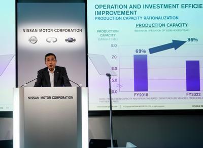 Nissan to slash 12,500 jobs in targeting turnaround