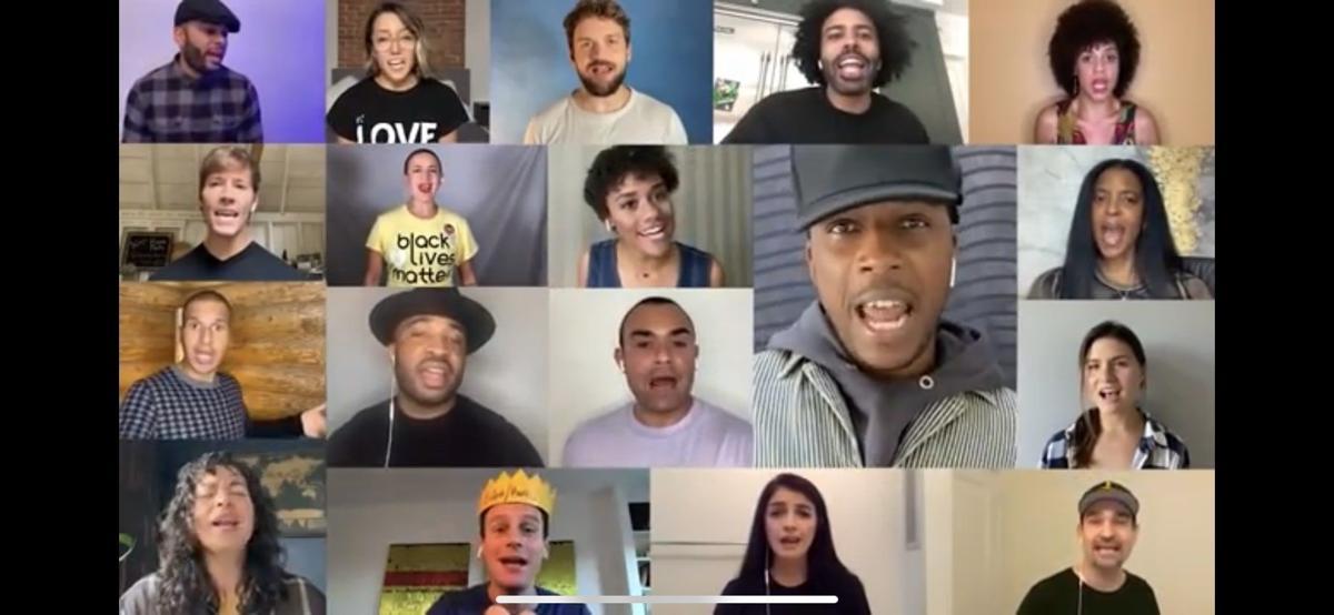 Hamilton cast reunites to host virtual fundraiser for Biden