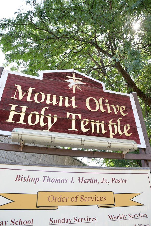 Mount Olive Holy Temple Church is located at 1469 N. Broad St.