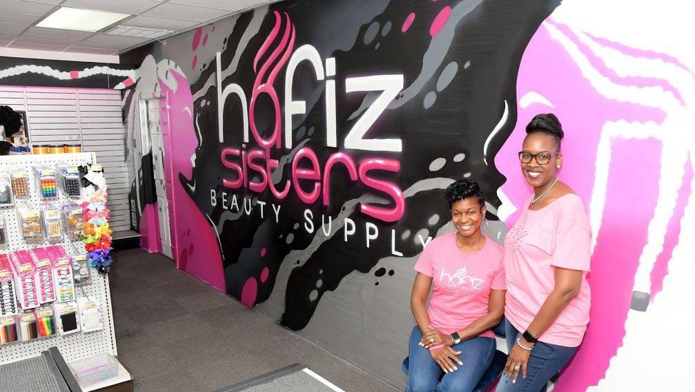 Zainab Hafiz-Moore and Tia Flournoy