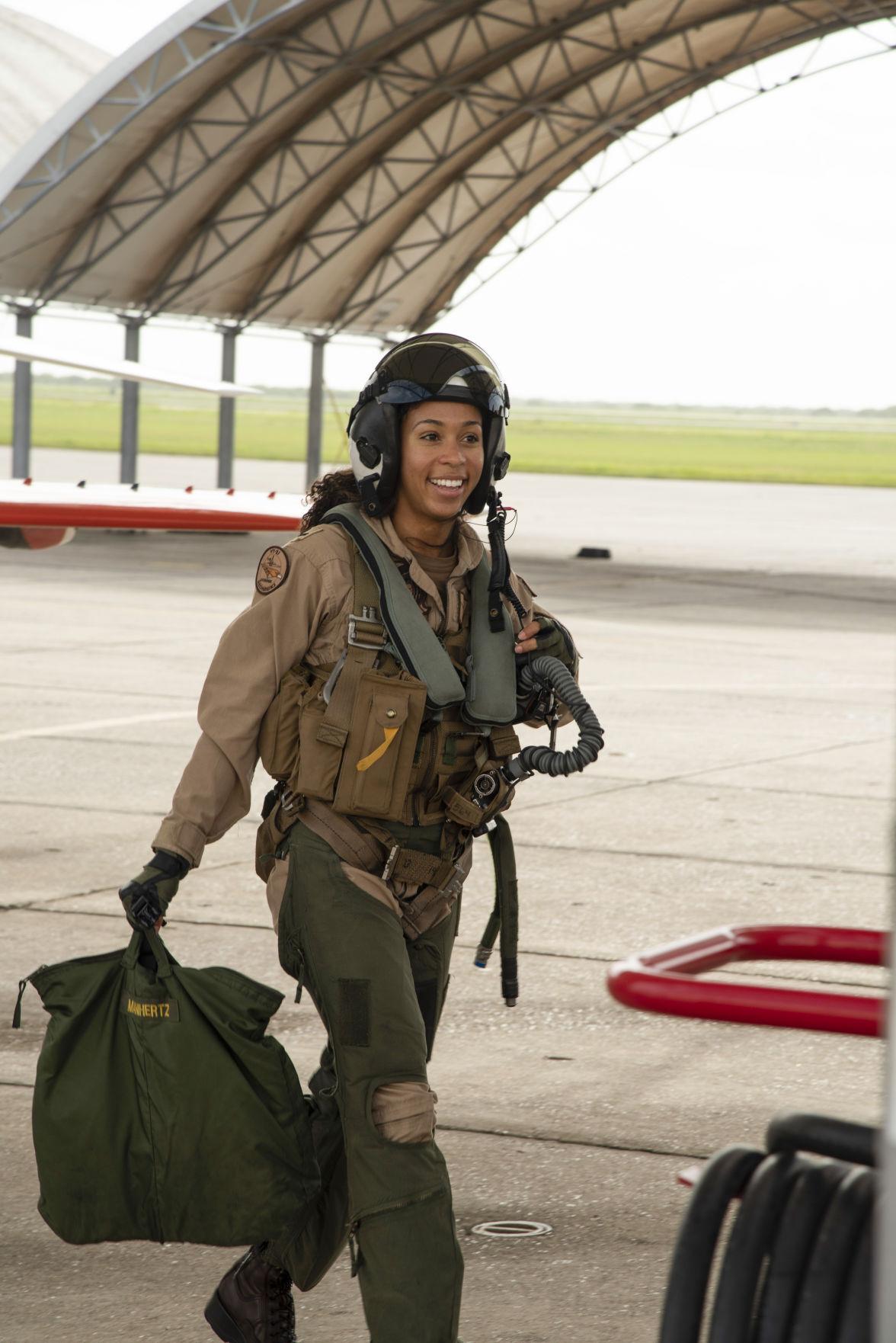 Black Naval Pilot
