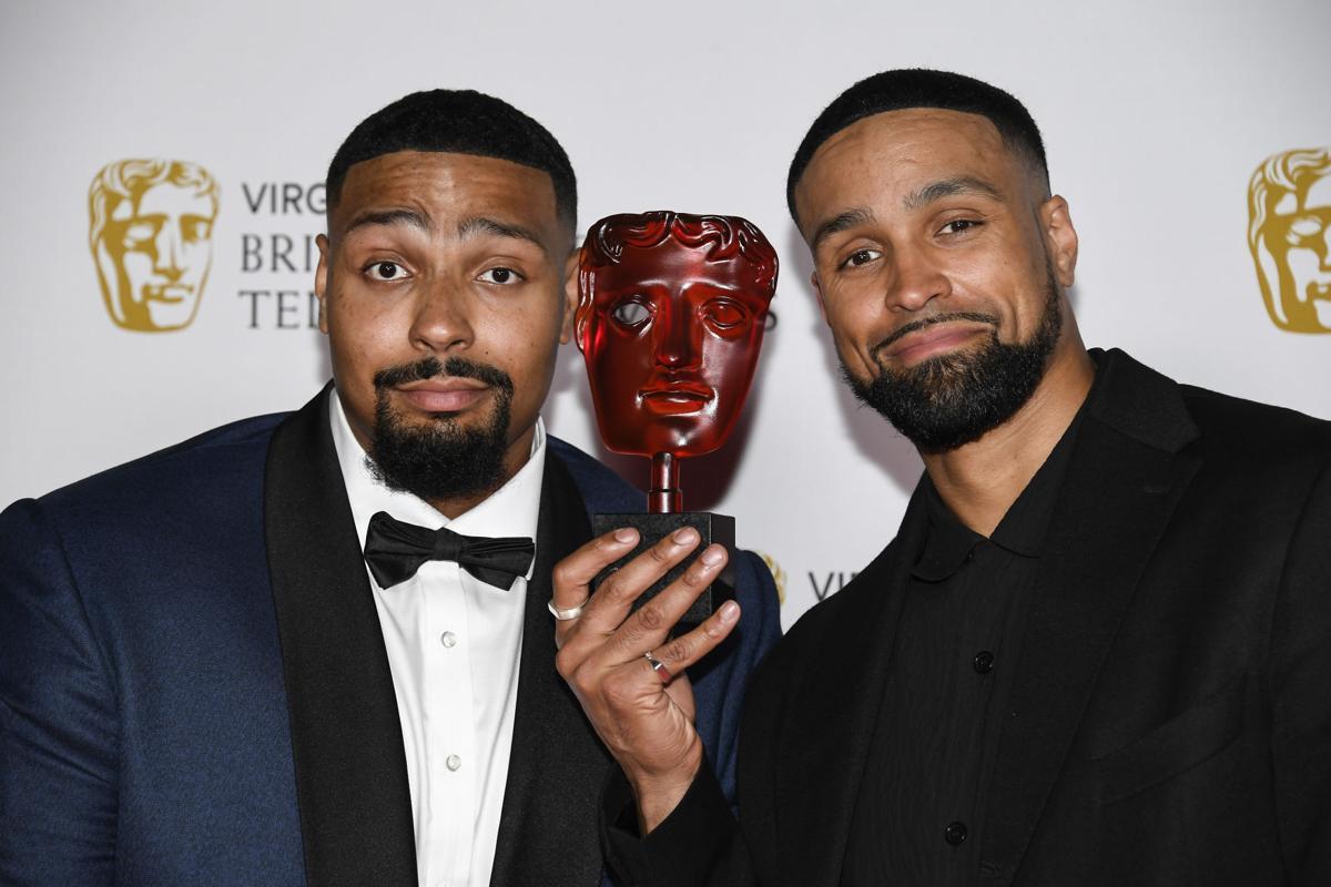 Britain Bafta TV Awards Winners Area