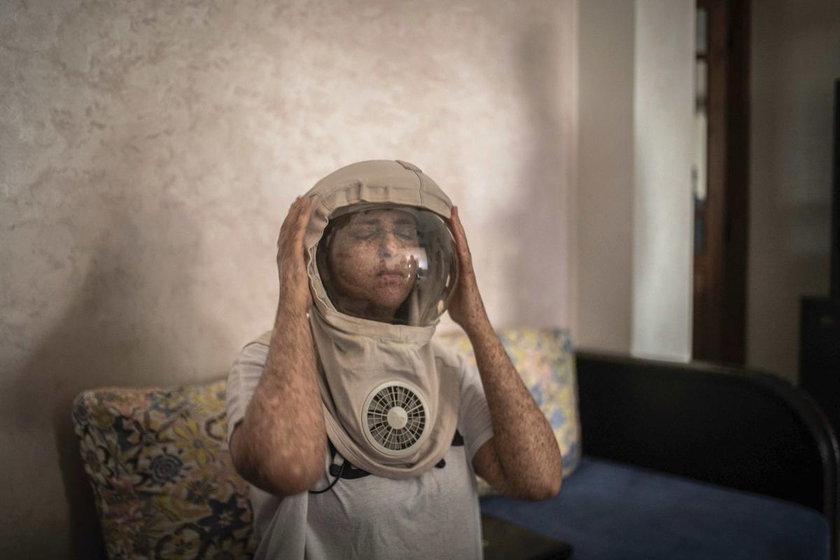 APTOPIX Morocco Children of the Moon